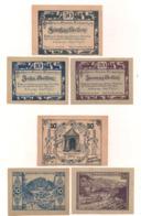 3 Notgeldscheine Reichraming 10, 20 + 50 H - Austria