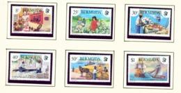 BERMUDA  -  1981 Heritage Week Set Unmounted/Never Hinged Mint - Bermuda