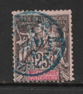 Nouvelle Calédonie - New Caledonia - Yvert 48 Oblitéré BOULOUPARI En BLEU - Scott#50 - Gebraucht