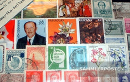 America South America Stamps-300 Different Stamps - America (Other)