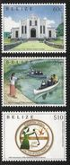 2013 Belize Missionaries Religion Pallotine Sisters Nuns Complete Set Of 3 MNH - Belize (1973-...)