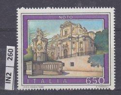 ITALIA  1988Turismo  Noto  Nuovo - 6. 1946-.. Republic