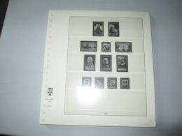 LINDNER 1947 / 1959 Jeu France T132 - Albums & Bindwerk