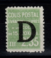 Colis Postaux - YV 142 N** Luxe - Parcel Post