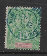 Nouvelle Calédonie - New Caledonia - Yvert 59 Oblitéré LA FOA En BLEU - Scott#44 - Usados