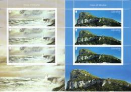 Vuurtoren, Lighthouse Gibraltar 2018 Mi Nr 1872 + 1873, 2 X Sheet , Europa Point - Lighthouses