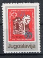 Yougoslavie Nobel Red Cross Croix Rouge - Prix Nobel