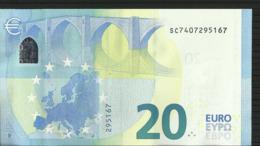 20 EURO ITALIE-ITALIA S017 G4 CH 40 UNC DRAGHI - EURO
