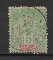 Nouvelle Calédonie - New Caledonia - Yvert 59 Oblitéré PORT-VILA - Scott#44 - Gebruikt