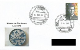 ESPAÑA. POSTMARK CERAMICS MUSEUM. L'ALCORA 2017 - España
