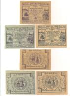 3 Notgeldscheine Raabs A.d. Th. 10, 20 + 50 H - Austria