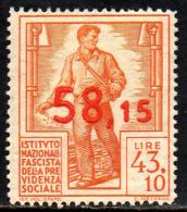 11971 Italia INFPS Instituto Nazionale Fascista Della Previdenza Sociale NNN - Italien