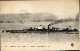 Cp Marine De Guerre, Marine Militaire Francaise, Sous Marin Monge, U Boot Monge - Schiffe