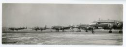 RARE Aerodrome LYON Eddie Constantine De New York Avion Ligne 50s Bron Lockheed  Constellation Detourné De Paris - Aviazione