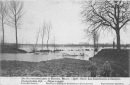BELGIQUE - Inondations à HAMME - Mars 1906 - Digue Rompue - Hamme