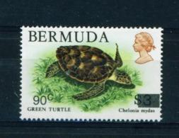 BERMUDA  -  1986 Surcharge 90c On $3 Unmounted/Never Hinged Mint - Bermuda