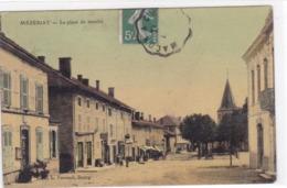 Ain - Mézériat - La Place Du Marché - France