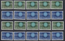 Europa Cept 1960 Turkey 2v ** Mnh   (44916) - 1960
