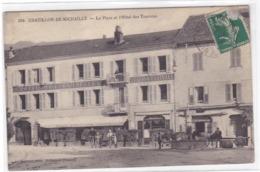 Ain - Châtillon-de-Michaille - La Place Et L'Hôtel Des Touristes - France