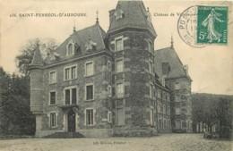 43 - SAINT FERREOL D'AUROURE - CHATEAU DE VILLENEUVE - France