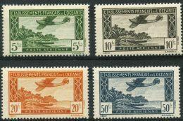 Oceanie (1944) PA N 14 à 17 * (charniere) - Oceania (1892-1958)