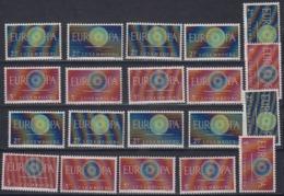 Europa Cept 1960 Luxemburg  2v (10x)  ** Mnh (44917) - 1960