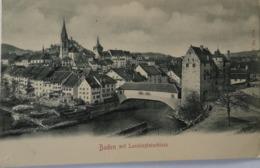 Suisse (AG) Baden Schweiz // Mit Landvogteischloss Ca 1900 - AG Aargau