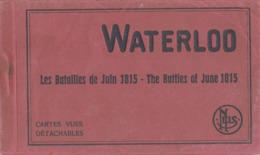 WATERLOO CARNET DE 10 CARTES - Waterloo