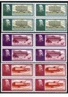 USSR Russia 1990 Block 120th Birth Anniv Vladimir Lenin Famous People Celebrations Politician Architecture Stamps MNH - Architecture