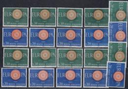 Europa Cept 1960 Italy 2v (10x)  ** Mnh (44918) - 1960