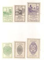 3 Notgeldscheine Rastenfeld 10, 20 + 50 H - Austria