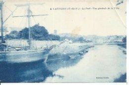 4 - LANNION - LE PORT - VUE GENERALE DE LA VILLE - Lannion