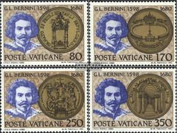Vatikanstadt 771-774 (complete Issue) Unmounted Mint / Never Hinged 1980 Bernini - Vatican