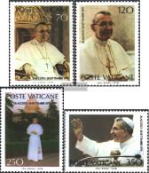 Vatikanstadt 732-735 (complete Issue) Unmounted Mint / Never Hinged 1978 Johannes Paul I. - Vatican