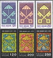 Vatikanstadt 726-728,729-731 (complete Issue) Unmounted Mint / Never Hinged 1978 Sede Vacante - Vatican