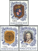Vatikanstadt 720-722 (complete Issue) Unmounted Mint / Never Hinged 1978 Pope Pius IX. - Vatican