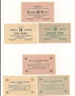 3 Notgeldscheine Randegg 10, 20 + 50 H - Austria