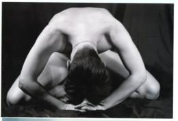 Homme Man Nude Torse Nu Naked 2003 Amateur Sexy Pose Gay Playboy Modele Model Noir Et Blanc - Personnes Anonymes