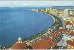 POSTCARD AFRICA - ANGOLA   - LUANDA - Av. PAULO DIAS DE NOVAIS ( MARGINAL ) - Angola