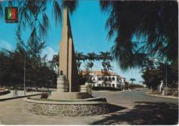 POSTCARD AFRICA - ANGOLA   - BENGUELA - MONUMENTO A MANUEL CERVEIRA PEREIRA - Angola