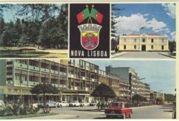 POSTCARD AFRICA - ANGOLA   - NOVA LISBOA - ASPECTOS DA CIDADE - Angola