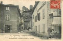 69 -  CHATILLON D'AZERGUES - CROISEMENT DE LA ROUTE DE LYON A CHAROLLES - Francia