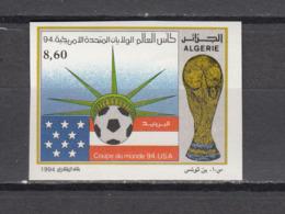 Football / Soccer / Fussball - WM 1994:  Algerien  1 W **, Imperf. - World Cup