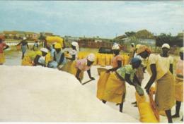POSTCARD AFRICA - ANGOLA   - LOBITO - SALINAS - Angola