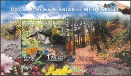 TURKEY 2015, NATIONAL PARK KAZDAGI, FAUNA, BIRDS, BUTTERFLIES, INSECTS, MNH SET (MiNo 4193) In GOOD QUALITY, *** - 1921-... Republic