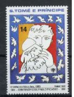 Saint Thomas 1981 IYC AIE Picasso MNH - Childhood & Youth