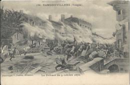 La Défense Du 9 OCTOBRE 1870  à Rambervillers      Animation - Francia