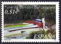 España. Spain. 2003. Tunel De Somport Por Carretera - 2001-10 Nuevos & Fijasellos