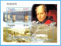 España. Spain. 2003. HB. II Centenario Escuela De Ingenieros De Caminos, Canales Y Puertos. Madrid - 2001-10 Nuevos & Fijasellos