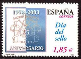España. Spain. 2003. Dia Del Sello - 2001-10 Nuevos & Fijasellos